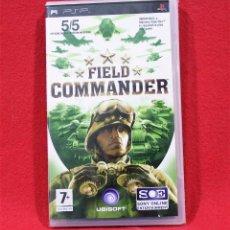 Videojuegos y Consolas: FIELD COMMANDER. PRECINTADO. Lote 80266897