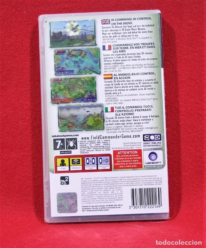 Videojuegos y Consolas: FIELD COMMANDER. PRECINTADO - Foto 2 - 80266897