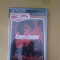 Videojuegos y Consolas: GANGS OF LONDON. PSP. COMO NUEVO. Lote 80712782