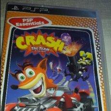 Videojuegos y Consolas: JUEGO PSP CRASH TAG TEAM RANCING. Lote 81182900
