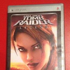 Videojuegos y Consolas: LARA CROFT TOMB RAIDER LEGEND/CASTELLANO/PSP. Lote 81978032