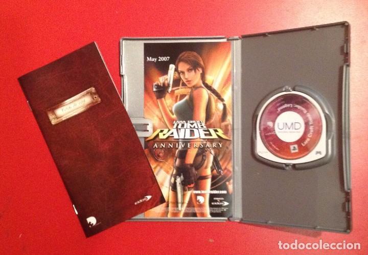 Videojuegos y Consolas: LARA CROFT TOMB RAIDER LEGEND/CASTELLANO/PSP - Foto 2 - 81978032