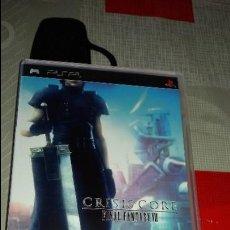 Videojuegos y Consolas: JUEGO DE PSP FINAL FANTASY CRISIS CORE COMO NUEVO . Lote 82105896