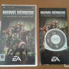 Videojuegos y Consolas: MARVEL NEMESIS PSP PAL/ESPAÑA. Lote 83579536