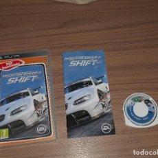 Videojuegos y Consolas: NEED FOR SPEED SHIFT JUEGO SONY PSP PAL ESPAÑA COMPLETO. Lote 83852208