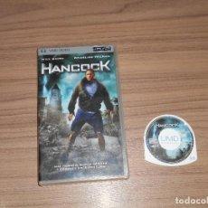 Videojuegos y Consolas: HANCOCK PELICULA SONY PSP PAL ESPAÑA. Lote 83852288