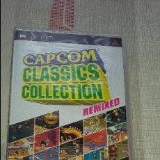 Videojuegos y Consolas: JUEGO DE PSP CAPCOM CLASSICS COLLECTION REMIXED COMO NUEVO . Lote 86194416