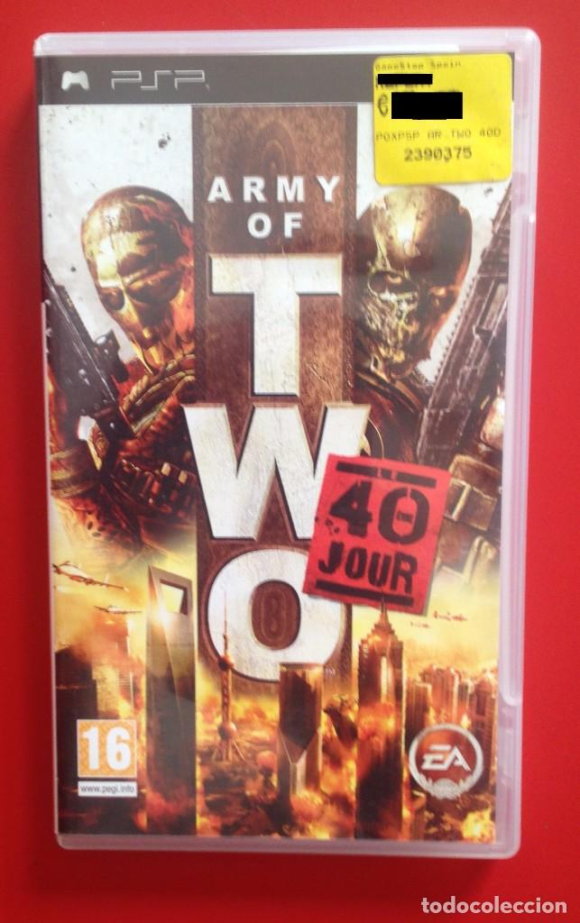 ARMY OF TWO. PSP (Juguetes - Videojuegos y Consolas - Sony - Psp)