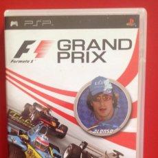 Videojuegos y Consolas: F1 GRAND PRIX . PSP.. Lote 87356820