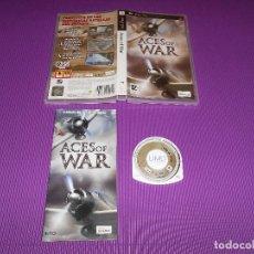 Videojuegos y Consolas: ACES OF WAR - PSP - 505 GAMES - EDICION ULES 00590 - PARTICIPA EN LAS HISTORICAS BATALLAS DEL PASADO. Lote 90428709