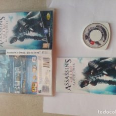 Videojuegos y Consolas: ASSASSIN'S CREED BLOODLINES PSP SONY COMPLETO PAL-ESPAÑA. Lote 91382255