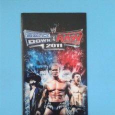 Videojuegos y Consolas: SMACK DOWN VS RAW 2011 (INSTRUCCIONES). Lote 93197390