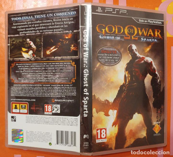 God of war: ghost of sparta (psp) (no platinum) - Sold through