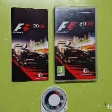 Videojuegos y Consolas: FÓRMULA 1,2009,JUEGO PARA PSP. Lote 95479051