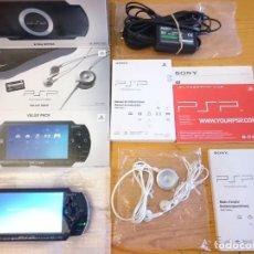 Videojuegos y Consolas: PSP 1004 CON CAJA + INSTRUCCIONES+AURICULARES COMPLETA Y EN PERFECTO ESTADO . Lote 95492855