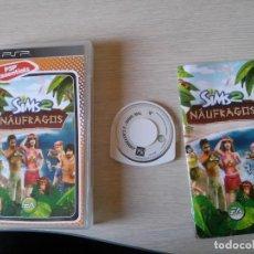 Videojuegos y Consolas: SONY PSP SIMS 2 NAUFRAGOS PAL ESPAÑA CON INSTRUCCIONES. Lote 96264927