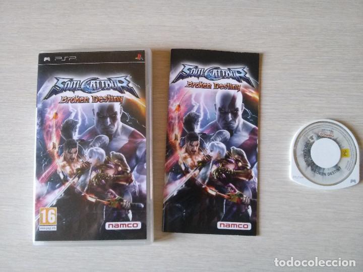 SOULCALIBUR BROKEN DESTINY SONY PSP (Juguetes - Videojuegos y Consolas - Sony - Psp)