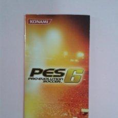 Videojuegos y Consolas: PES 6 (MANUAL DE INTRUCCIONES). Lote 96458835