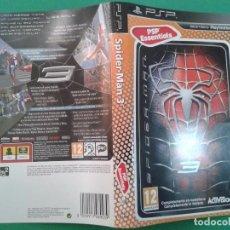 Videojuegos y Consolas: SPIDERMAN 3 (CARATULA). Lote 96904263