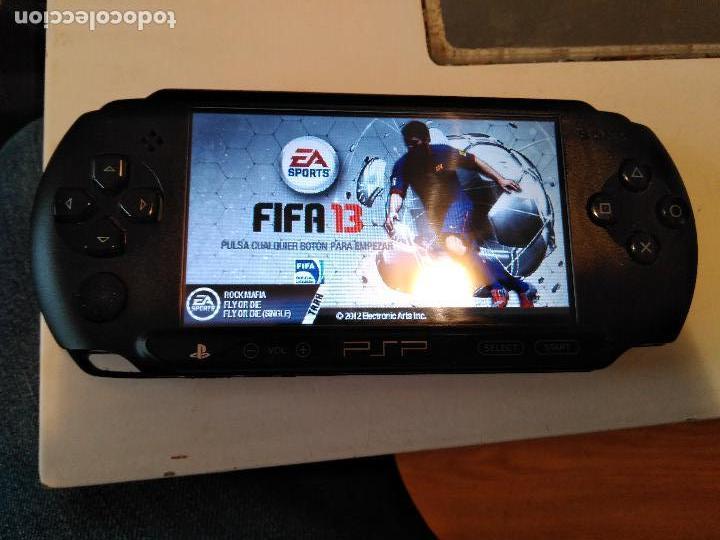 CONSOLA SONY PSP E1004CB STREET FUNCIONANDO (Juguetes - Videojuegos y Consolas - Sony - Psp)