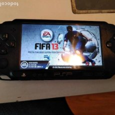 Videojuegos y Consolas: CONSOLA SONY PSP E1004CB STREET FUNCIONANDO. Lote 98025351