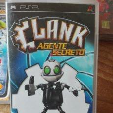 Videojuegos y Consolas: CLANK AGENTE SECRETO PSP. Lote 98470542