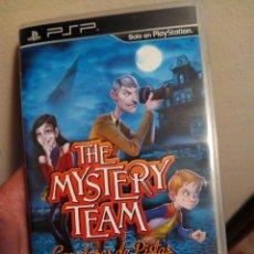 Videojuegos y Consolas: JUEGO PSP THE MISTERY TEAM. Lote 99891819