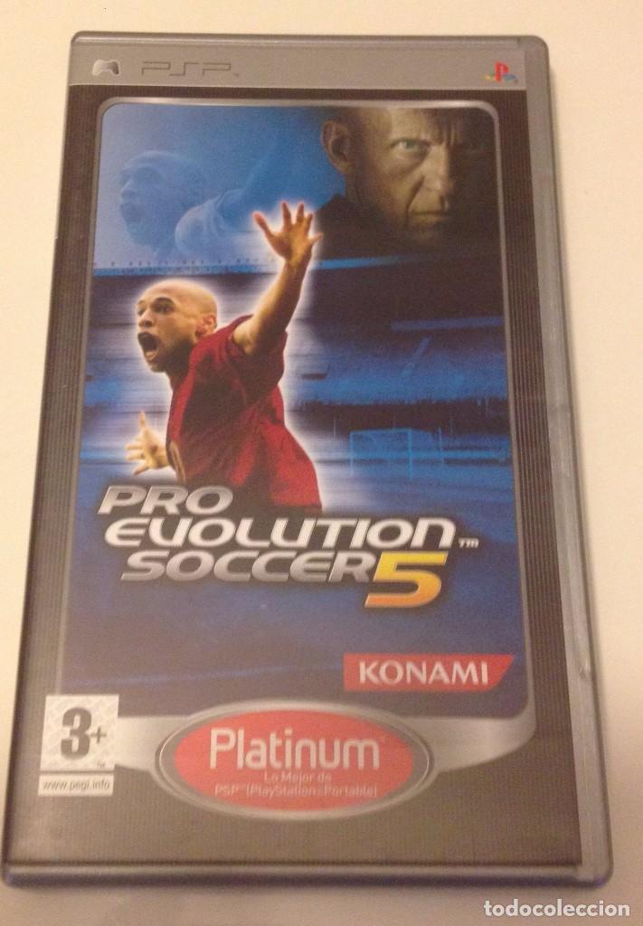 PRO EVOLUTION SOCCER 5 - SONY PSP/ VG+ (Juguetes - Videojuegos y Consolas - Sony - Psp)