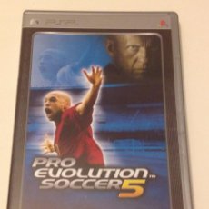 Videojuegos y Consolas: PRO EVOLUTION SOCCER 5 - SONY PSP/ VG+. Lote 101226703