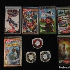 Videojuegos y Consolas: LOTE DE 9 JUEGOS PARA LA PSP . Lote 103657064