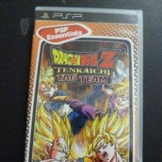 Videojuegos y Consolas: JUEGO -SONY - PSP - DRAGON BALL Z - TENKAICHI - TAG TEAM. Lote 102645275