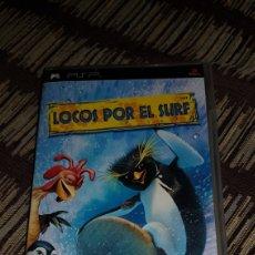 Videojuegos y Consolas: PSP CAJA VACIA CON LIBRETO LOCOS POR EL SURF. Lote 102952792