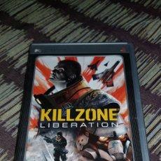 Videojuegos y Consolas: PSP KILLZONE LIBERATION CAJA VACIA SIN EL JUEGO!!. Lote 102953314