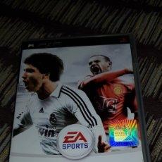 Videojuegos y Consolas: CAJA VACIA JUEGO PSP FIFA09 EL CD NO ESTA INCLUIDO!!. Lote 102953492