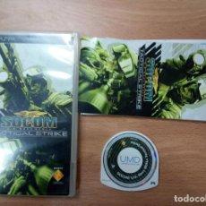 Videojuegos y Consolas: SOCOM TACTICAL STRIKE NAVY SEAL- PSP - PLAYSTATION PORTABLE PLAY STATION PAL ESP. Lote 103619043