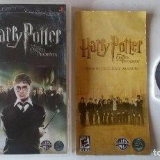 Videojuegos y Consolas: HARRY POTTER Y EL ORDEN DEL FENIX PARA PSP!!. Lote 103868635