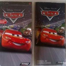 Videojuegos y Consolas: CARS PARA PSP!!. Lote 103868919