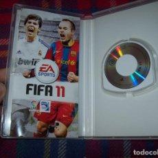 Videojuegos y Consolas: FIFA 11 PARA PSP. EA SPORTS. MUY BUEN ESTADO. VER FOTOS. . Lote 104021435