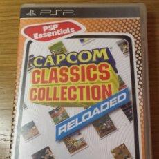 Videojuegos y Consolas: CAPCOM CLASSICS COLLECTION RELOADED PSP. Lote 104124103