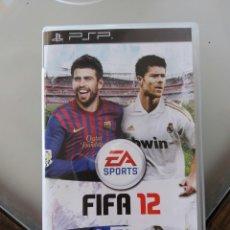 Videojuegos y Consolas: JUEGO FIFA 12 PARA PSP. Lote 104147180