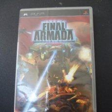 Videojuegos y Consolas: JUEGO - SONY - PSP - FINAL ARMADA. Lote 104469763