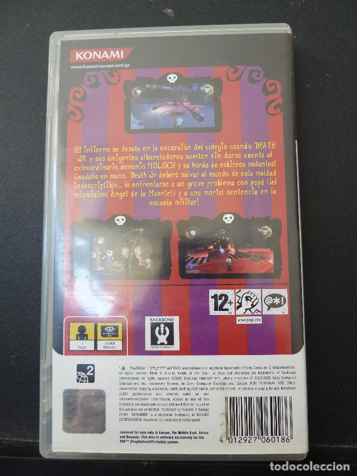 Videojuegos y Consolas: JUEGO - SONY - PSP - DEATH JR - Foto 2 - 104472687