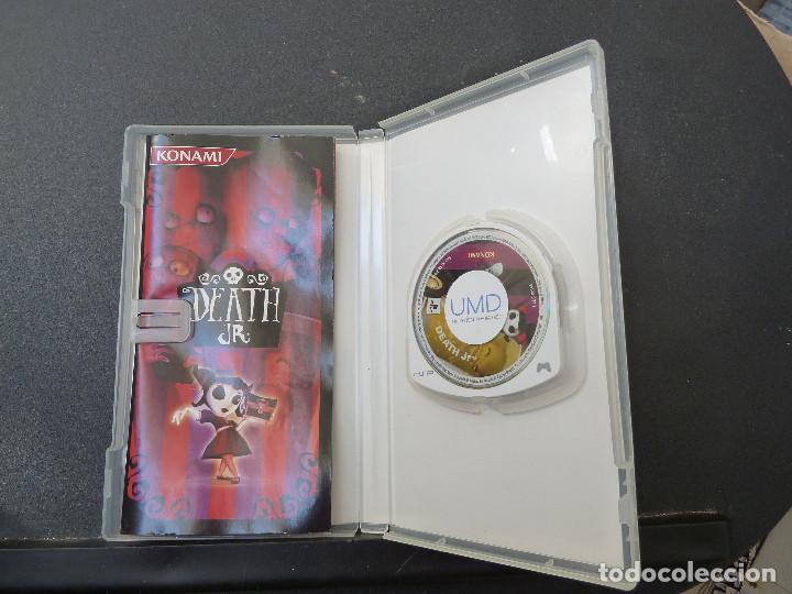 Videojuegos y Consolas: JUEGO - SONY - PSP - DEATH JR - Foto 3 - 104472687