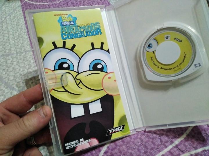 Videojuegos y Consolas: juego psp bob sponja - Foto 3 - 104476519