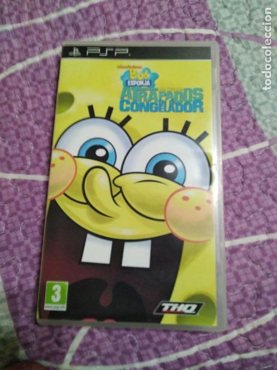 JUEGO PSP BOB SPONJA (Juguetes - Videojuegos y Consolas - Sony - Psp)