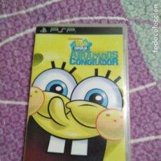 Videojuegos y Consolas: JUEGO PSP BOB SPONJA . Lote 104476519