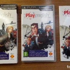 Videojuegos y Consolas: PSP PLAY ENGLISH EDICIÓN COLECCIONISTA. Lote 104856287
