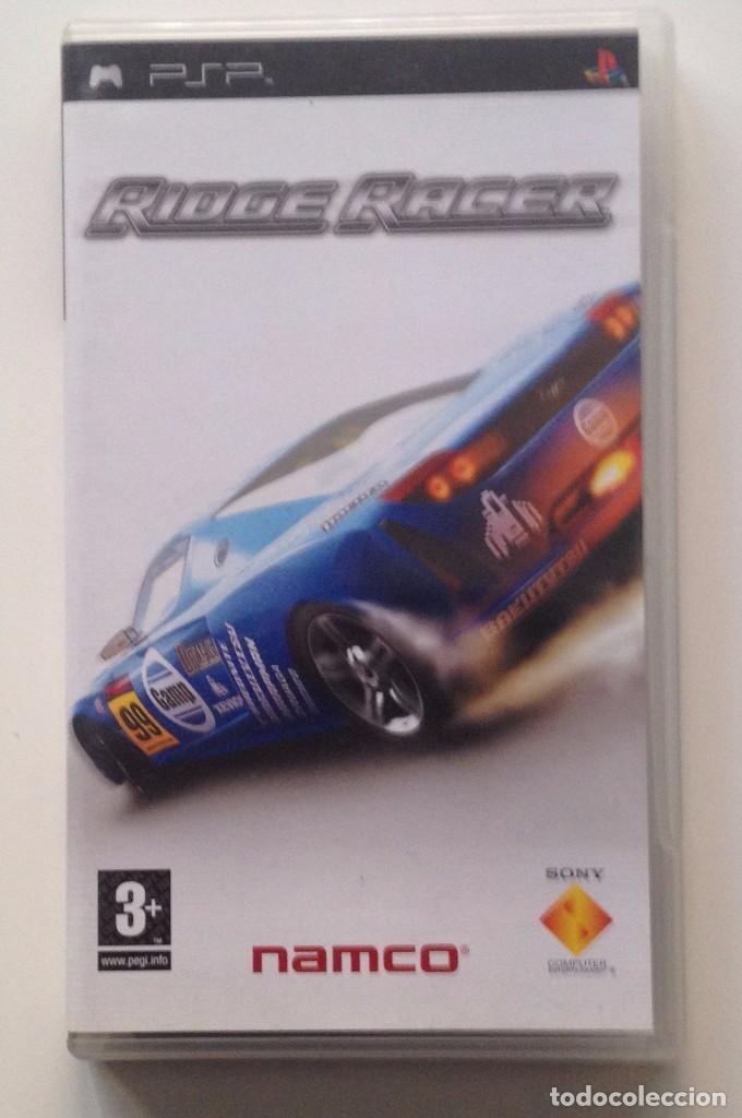 RIDGE RACE : SOLO CARATULA + FOLLETO. /PSP (Juguetes - Videojuegos y Consolas - Sony - Psp)