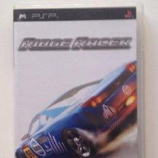 Videojuegos y Consolas: RIDGE RACE : SOLO CARATULA + FOLLETO. /PSP. Lote 104899299