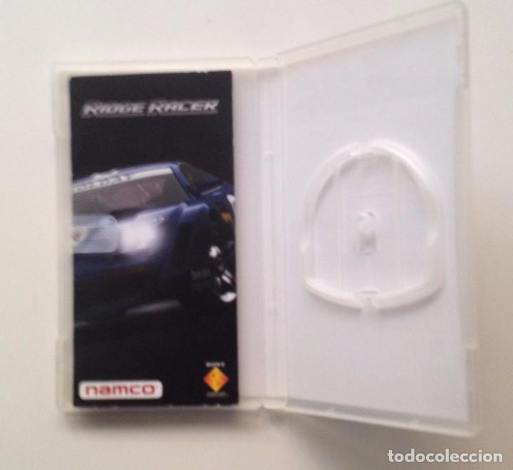 Videojuegos y Consolas: RIDGE RACE : SOLO CARATULA + FOLLETO. /PSP - Foto 2 - 104899299